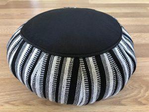 Stripey Meditation Cushion