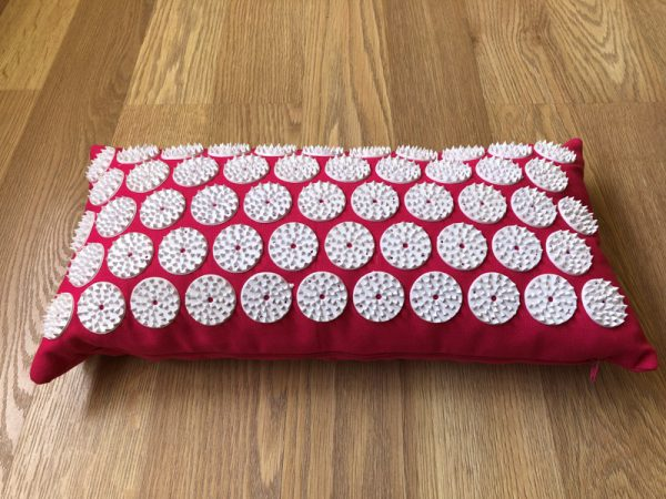 Red Acupressure Neck Pillow