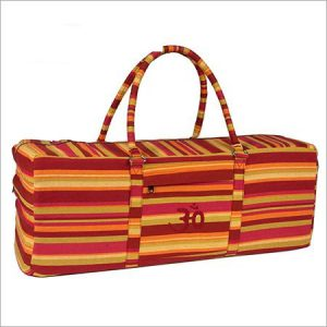 Red, Orange and Yellow Yoga Kit Bag